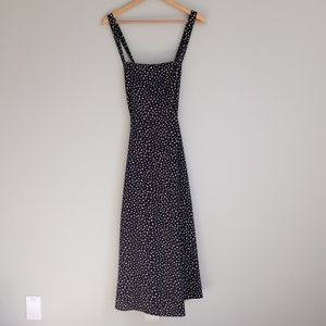 Kimchi Blue Navy and White Polka Dot Dress